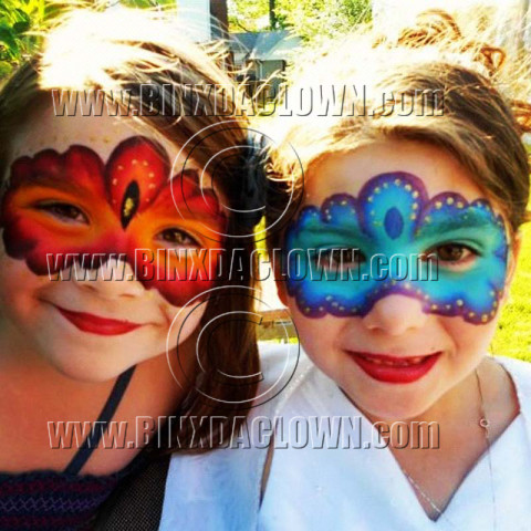 New Jersey face painters copy